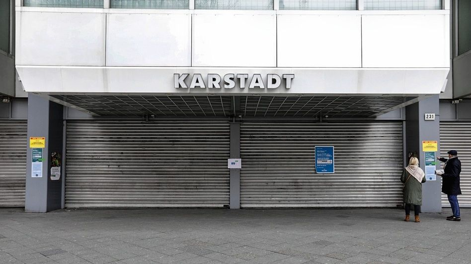 GELDVERBRENNER Filiale in Berlin während des Lockdowns