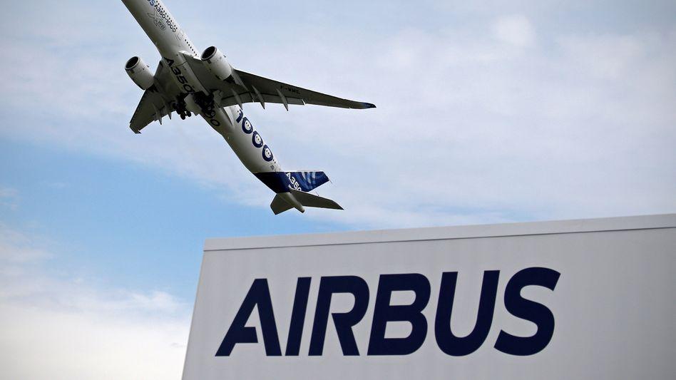 10 Prozent Strafzoll gegen Airbus: Das liegt deutlich unter den Befürchtungen - die Aktie von Airbus steigt deutlich