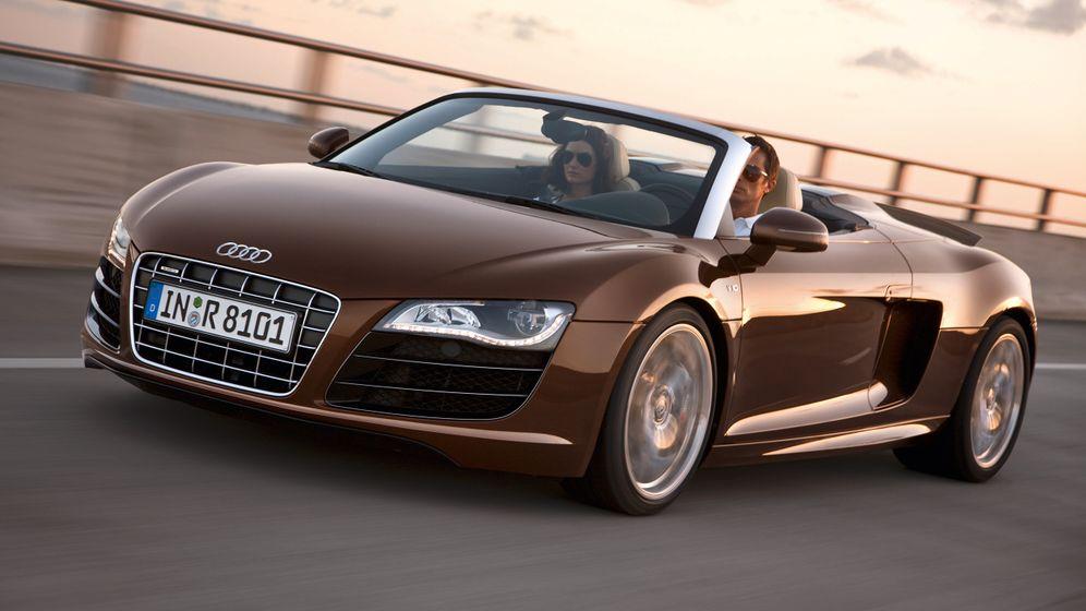 Audi R8 Spyder: Ein echter Hingucker