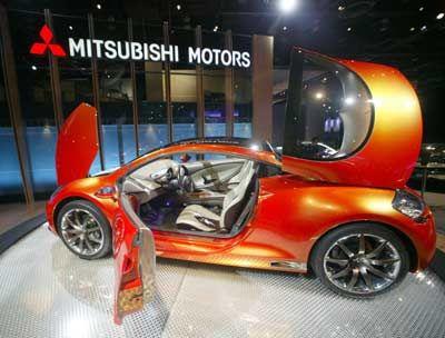Von wegen unscheinbar: Auch die japanischen Hersteller wollen mit Nischenfahrzeugen punkten, hier der Mitsubishi Eclipse Concept E