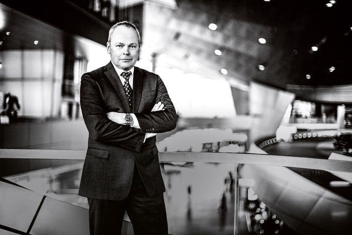 Stephan Schaller: Der Ex-BMW-Manager überschätzte die Veränderungsbereitschaft bei Voith - und musste nach nur sieben Monaten seinen Posten räumen.