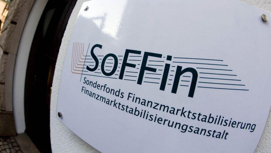 Sitz des Soffin in Frankfurt: Wiederbelebung wegen schärferer Eigenkapitalvorschriften für Banken