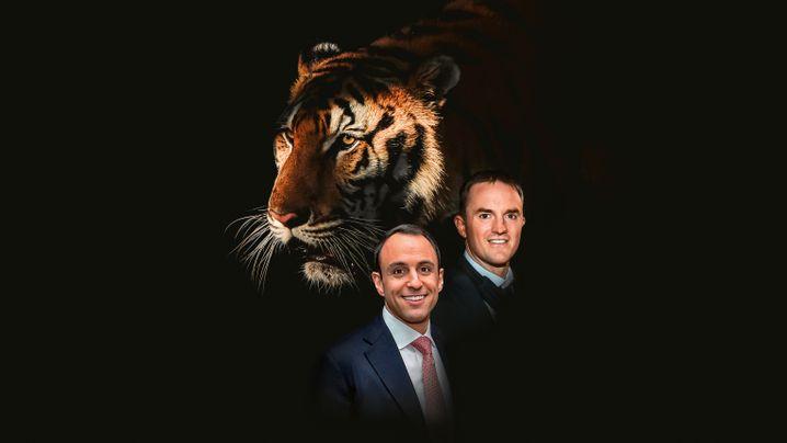 Der Name verpflichtet: Die Tiger-Global-Bosse Scott Shleifer und Chase Coleman (r.)