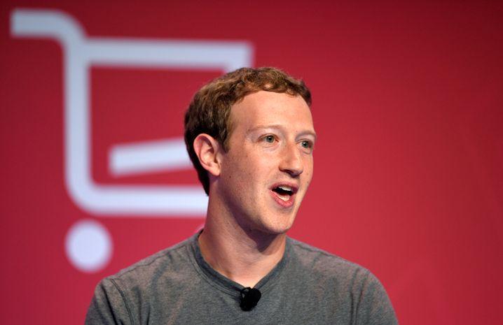 Großer Freund von künstlicher Intelligenz: Facebook-Gründer Mark Zuckerberg