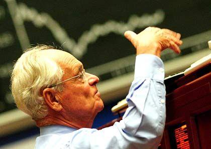 Händler an der Börse: Neues Jahreshoch im Blick