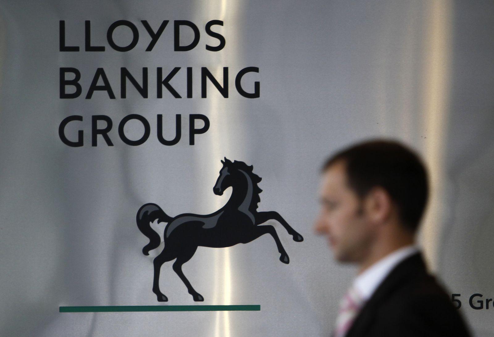 Lloyds Banking Group / Firmenschild