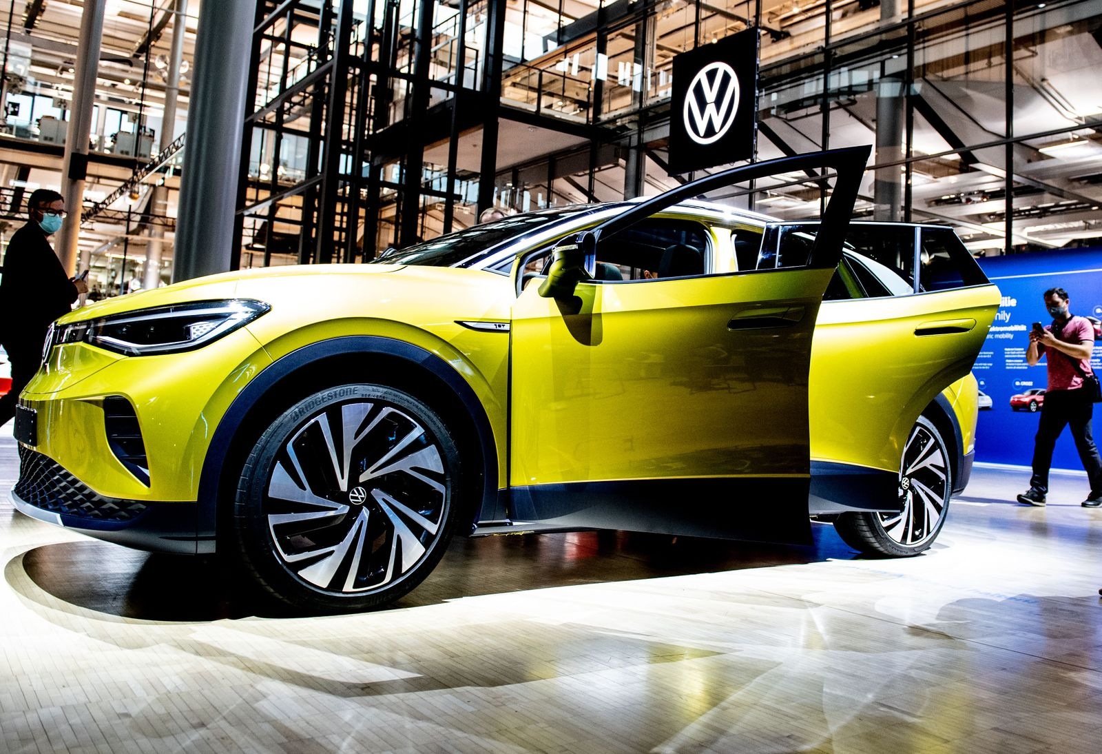 Volkswagen ID.4 presentation, Dresden, Germany - 23 Sep 2020