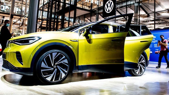 """Volkswagen präsentiert sein """"E-Weltauto"""" VW ID.4"""