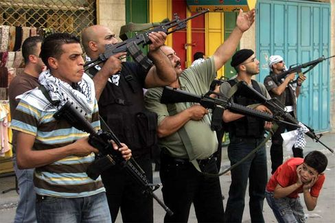 Bürgerkrieg: Gewalttätige Auseinandersetzungen in Nablus
