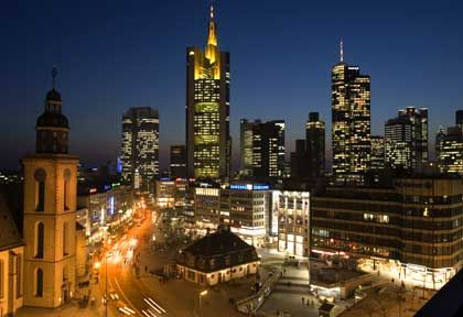 Bankenviertel in Frankfurt: Wachstumsmarkt im Investmentbanking