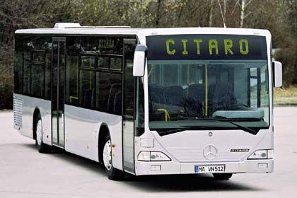 Weltweit gefragt: Die Omnibussparte von DaimlerChrysler hat den Turnaround geschafft und ihren Absatz deutlich erhöht