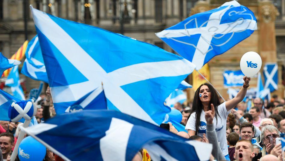 Schottland stimmt ab: 4,3 Millionen Menschen sind zur Stimmabgabe berechtigt