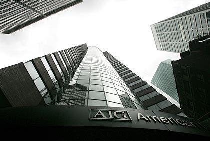 Staatlich gerettet: Die AIG in New York
