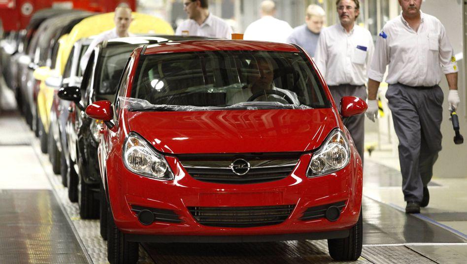 Opel-Produktion in Eisenach: Milliardenverlust, Abwrackprämie, wieder Milliardenverlust