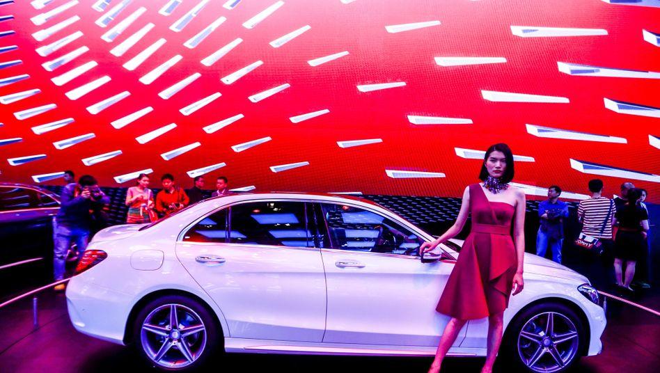 Premium-Autos aus Deutschland sind nach wie vor gefragt: Auch Mercedes setzt mehr Autos in China ab
