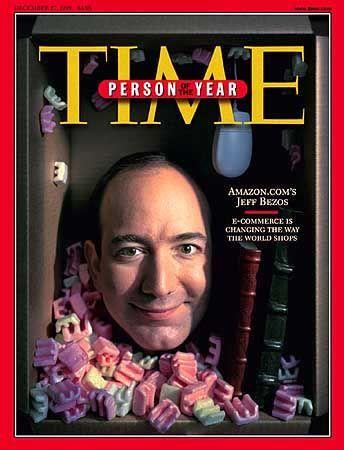 """Jeff Bezos auf dem Cover von """"Time"""": Irgendwie kann er einem schon leid tun"""