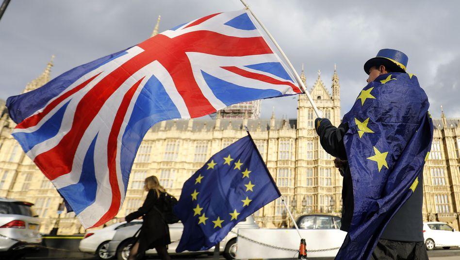 Anti-Brexit-Demonstrant in London (Archiv)
