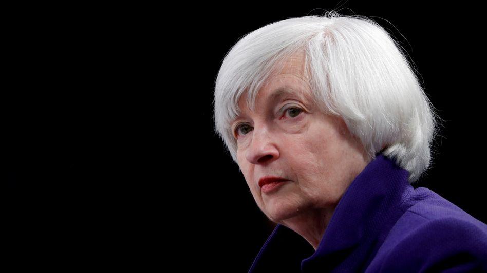Sorge um Anlegerschutz und Markteffizienz: US-Finanzministerin Janet Yellen ist durch die jüngsten Kursturbulenzen alarmiert