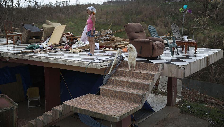 Die Folgen von Hurrikan Maria auf Puerto Rico
