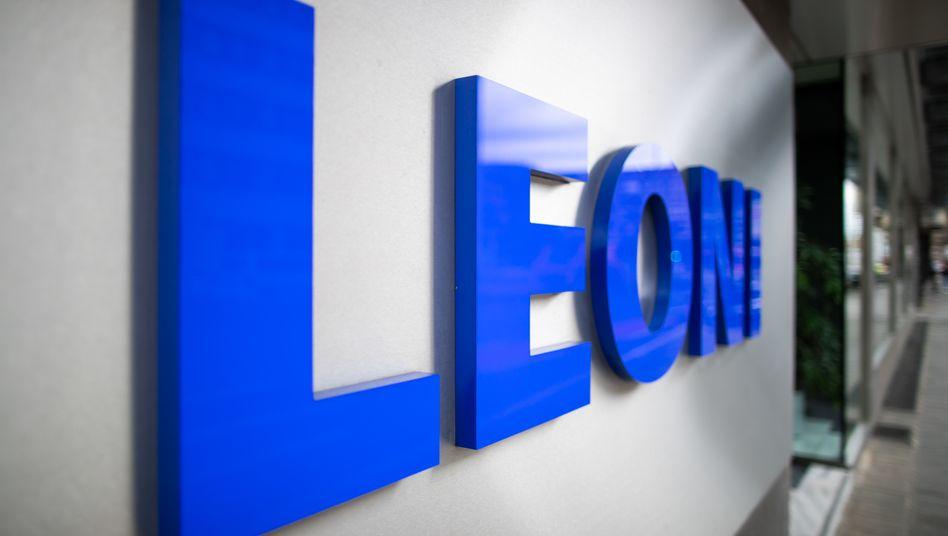 Logo des Kabelspezialisten und Autozulieferers Leoni