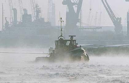 Schlepper: Die neue maritime Plattform soll mehr Handel an die Hamburger Börse ziehen