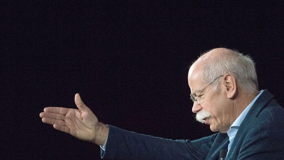 Schaut bei Tui demnächst den Top-Managern auf die Finger: Daimler-Chef Dieter Zetsche