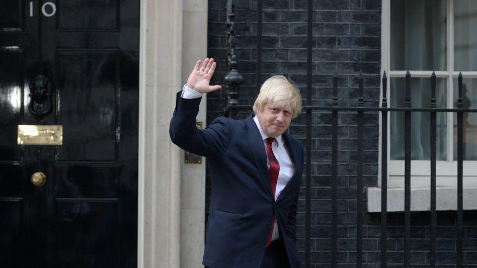 Da bin ich wieder: Nach dem Brexit-Votum hat sich Boris Johnson davongeschlichen - und soll nun als Außenminister Großbritannien gegenüber den europäischen Nachbarn vertreten