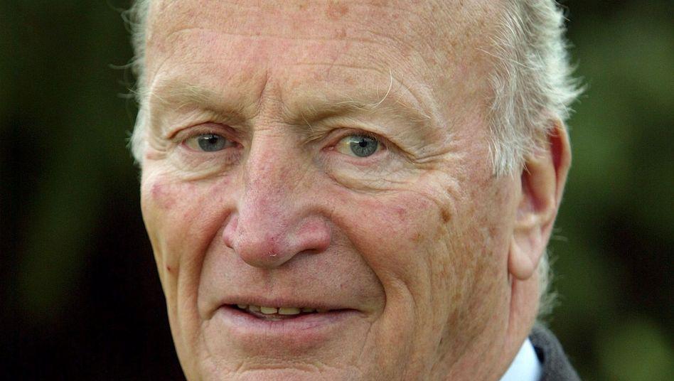 Hermann Bahlsen (Archivbild): Der Enkel des Unternehmensgründers starb im Alter von 86 Jahren
