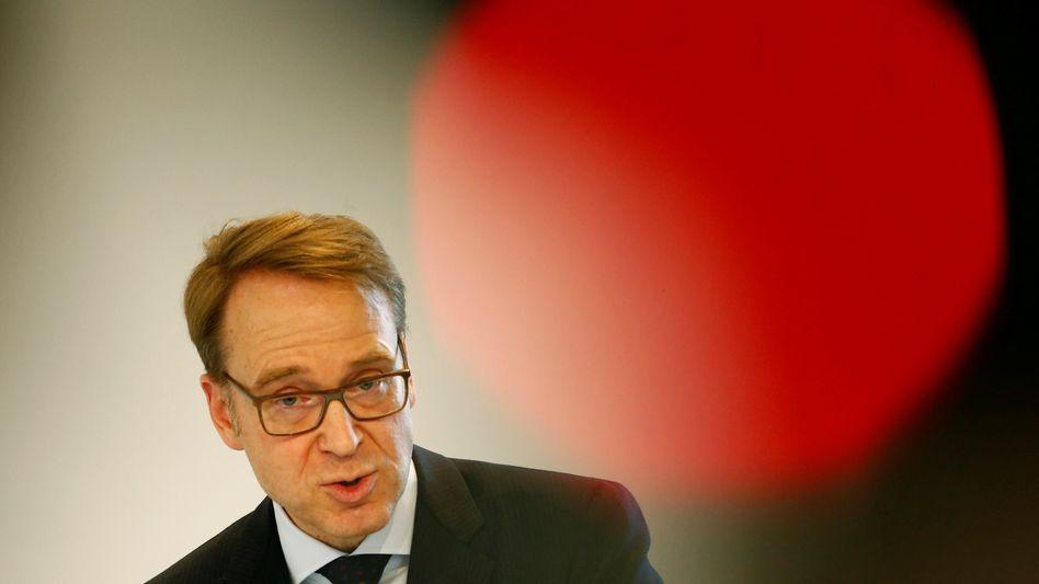 Kritik an Krypto-Geld: Bundesbank-Chef Weidmann