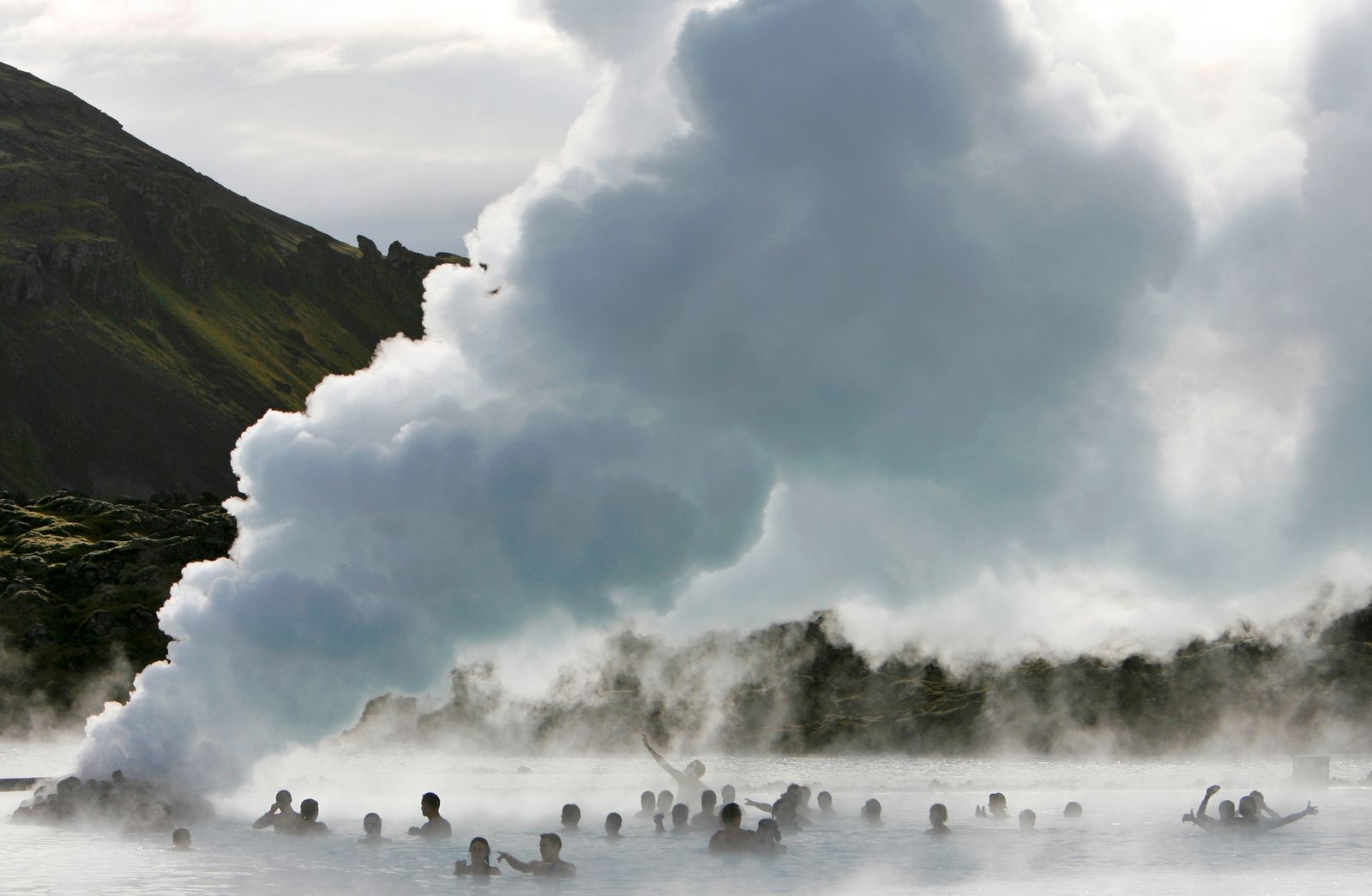 Island / Geysir / heiße Quellen
