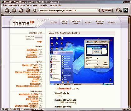 """Aqua XP"": Mac-Feeling für den Windows-PC"