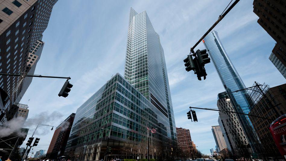 Aus dem Schatten: Zentrale von Goldman Sachs in New York