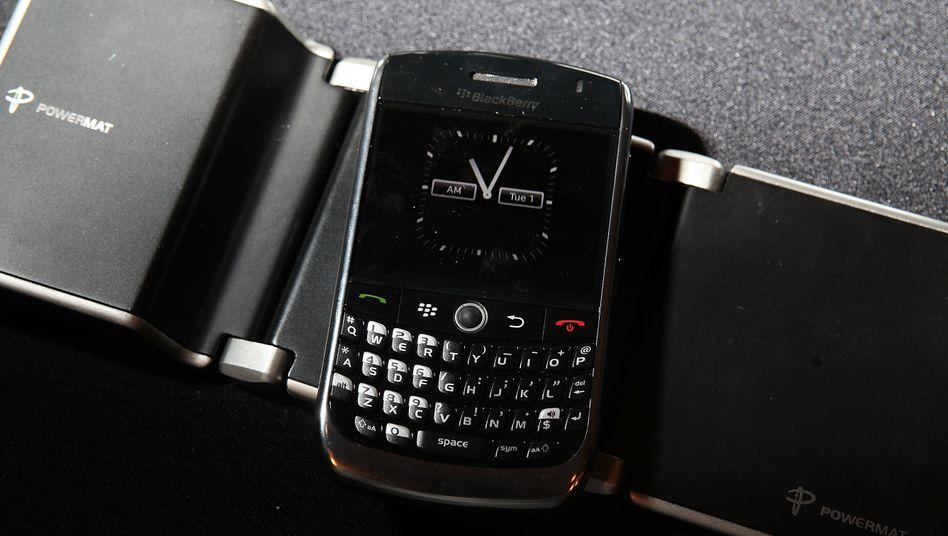 Business-Ikone: Das Blackberry ist besonders bei Geschäftsleuten beliebt