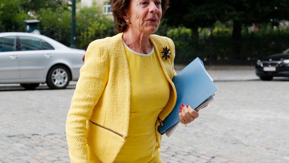 Ex-Digitalkommissarion Neelie Kroes: Jetzt nutzt sie ihre Kontakte für niederländische Start-ups