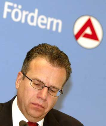 Nicht genügend belebende Impulse auf dem Arbeitsmarkt: BA-Chef Frank-Jürgen Weise