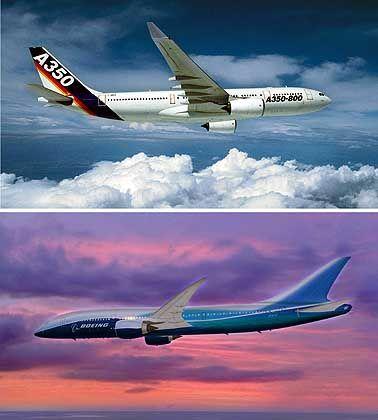 Große Vorbilder: China eifert Airbus und Boeing nach