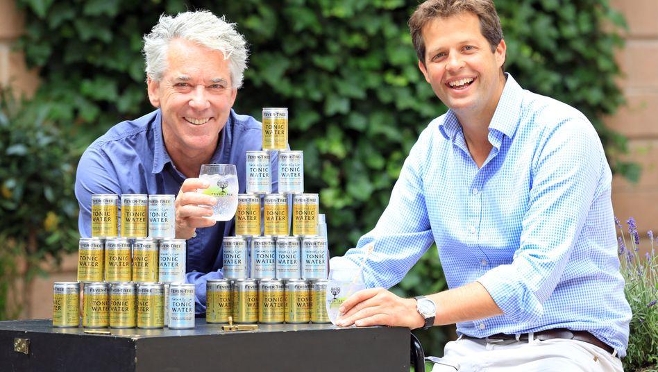Fever-Tree-Gründer Charles Rolls und Tim Warrillow (rechts)