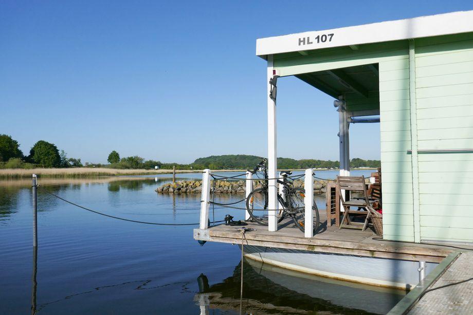 """Urlaubsdomizil Hausboot - auf der Schlei mit der """"Tammy"""""""