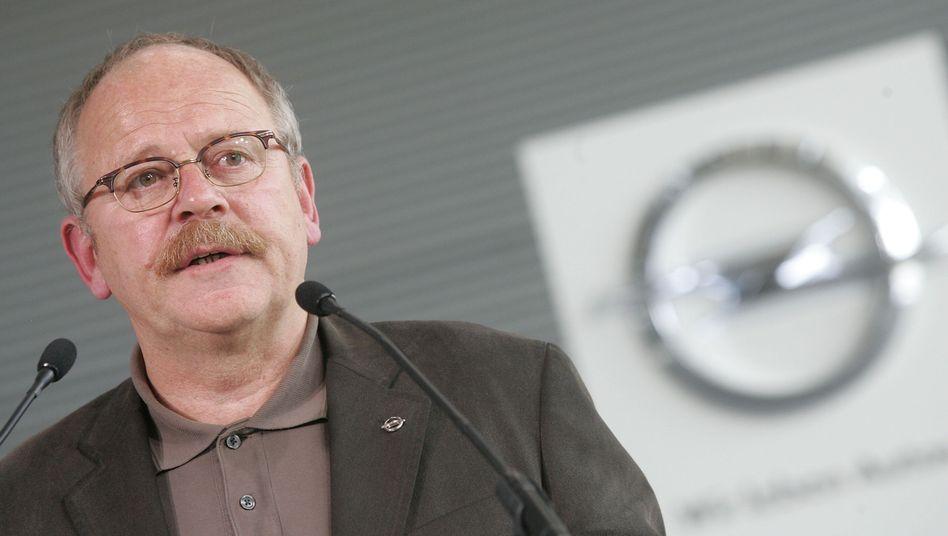 Sieht seinen Ruf beschädigt: Opel-Betriebsrat Franz