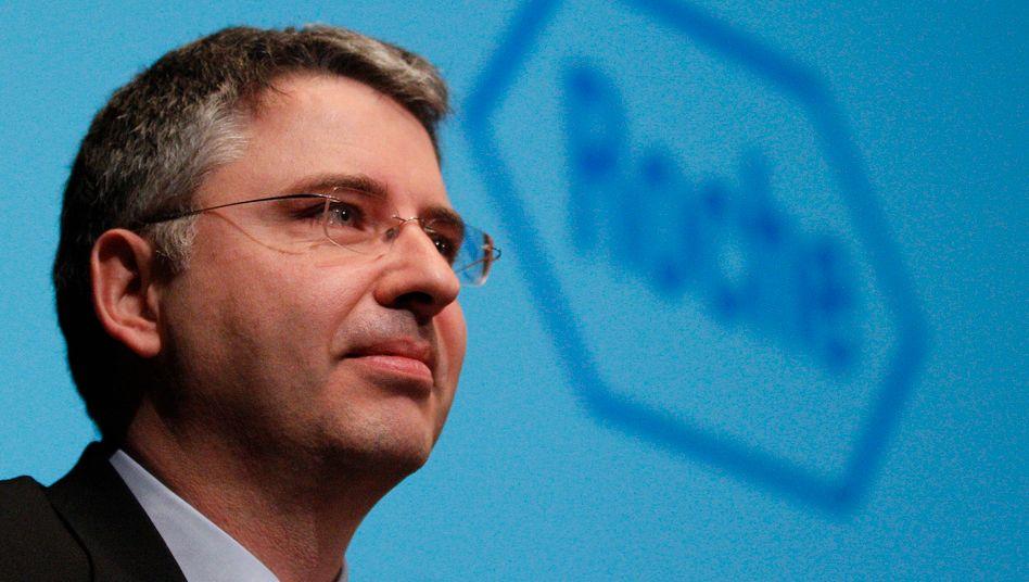 Roche-Chef Severin Schwan: Minus in Europa, plus in China