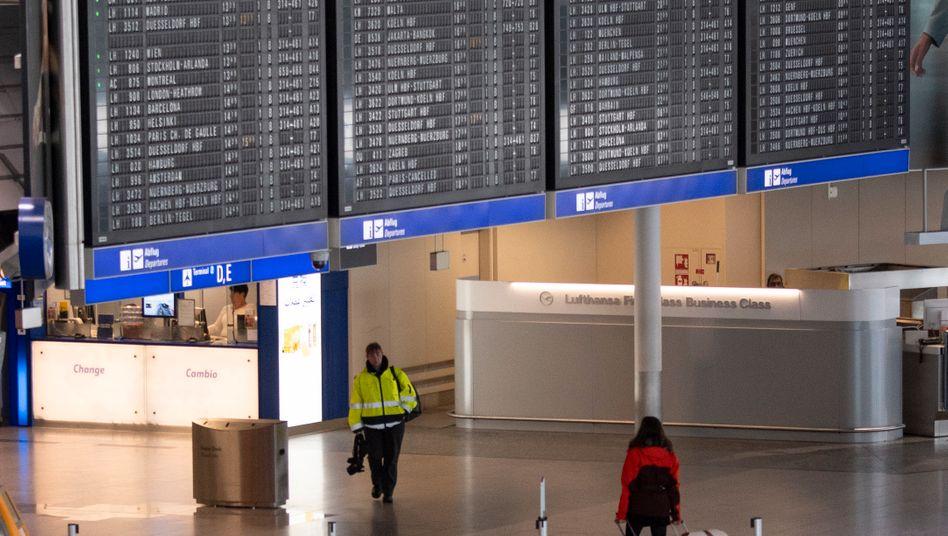Fraport geht von langer Durststrecke aus - Normalisierung erst ab 2023