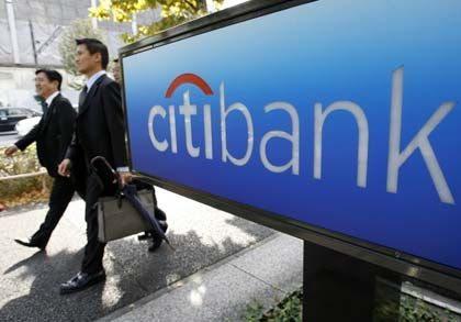 In Tokio bereits vor Ort: Der US-Finanzkonzern Citigroup hat in der japanischen Metropole ein gutes Börsendebüt hingelegt