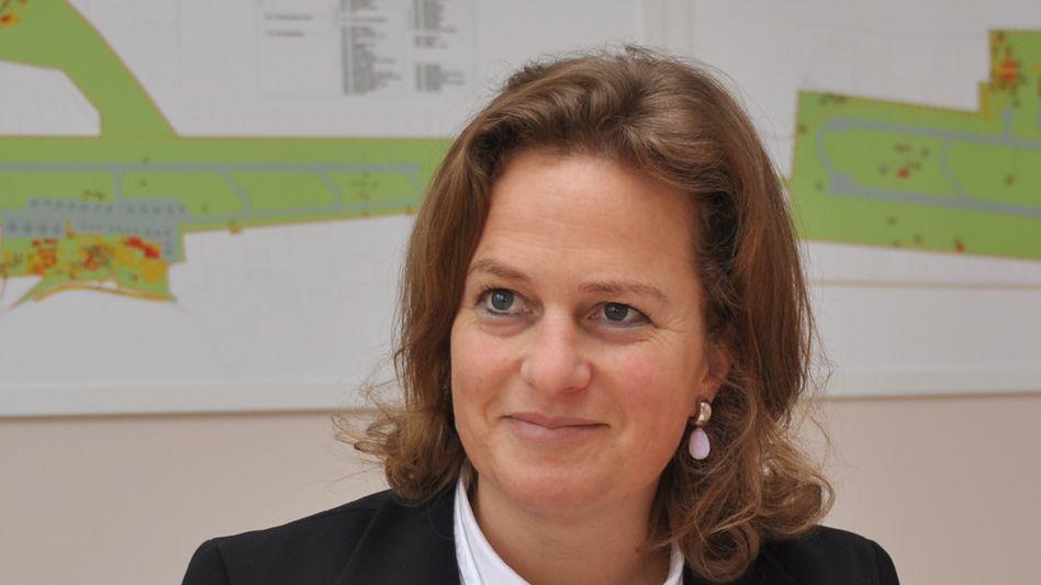 Regelt das: Aletta von Massenbach, Flughafen-Chefin in Antalya.