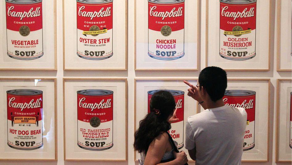 "Andy Warhol verewigte ""Campbells's Soup"" in einer berühmten Bilderserie."