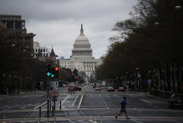 Capitol in Washington: Exit aus dem Shutdown nicht am Kongress vorbei