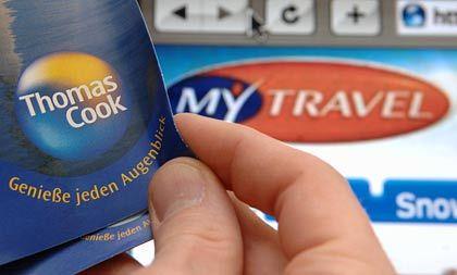 Mächtig im Minus: Der Reisekonzern Thomas Cook fuhr im ersten Quartal einen operativen Verlust von 120 Millionen Euro ein