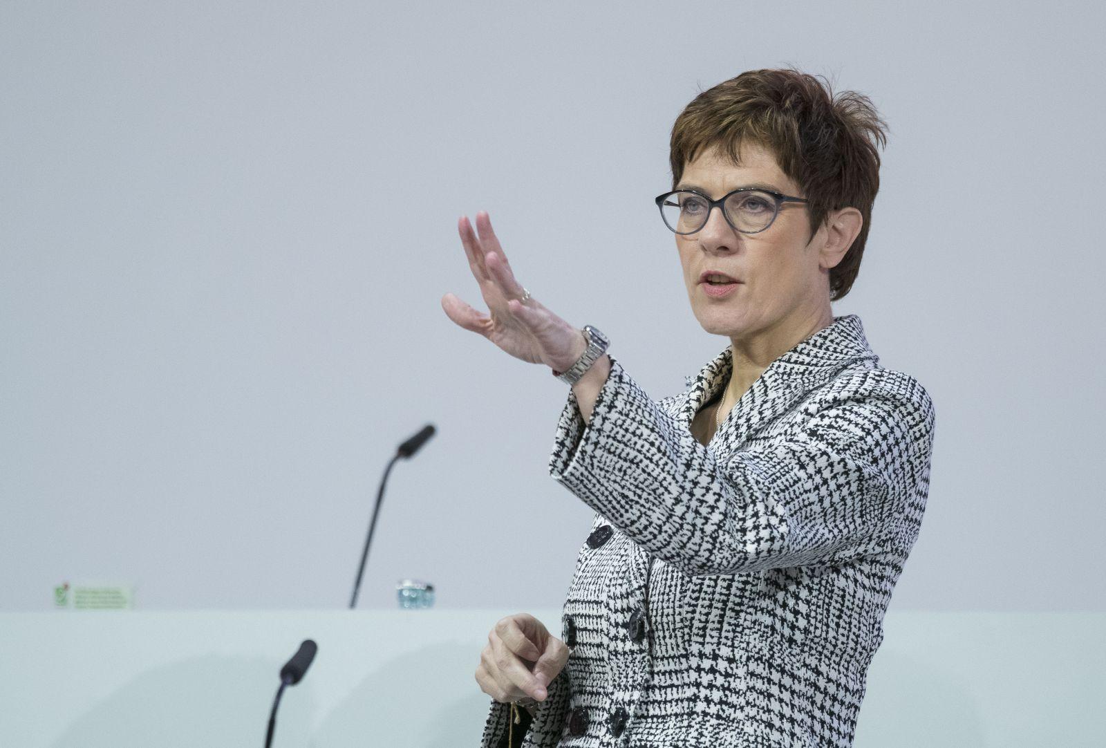 Kramp-Karrenbauer/ CDU/ Parteitag