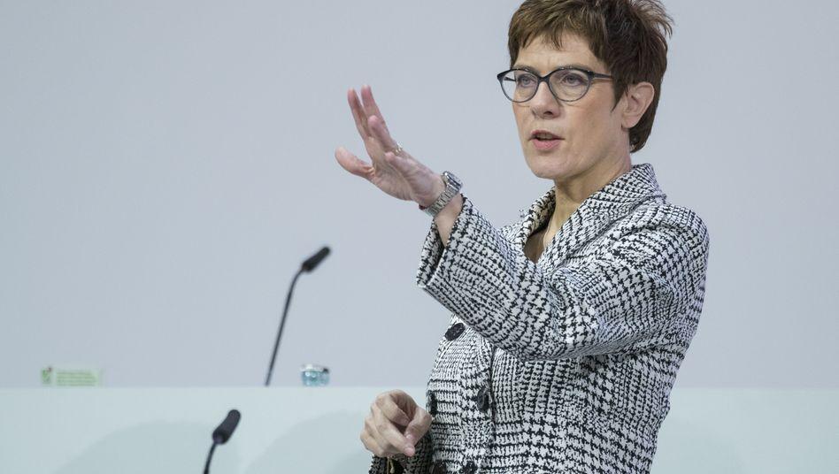 Neue CDU-Chefin: Annegret Kramp-Karrenbauer