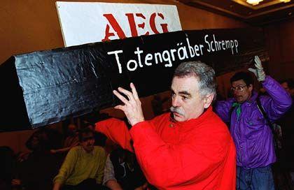 Zu Grabe getragen: AEG wurde wchon 1996 abgewickelt - nur die Marke blieb bis heute erhalten