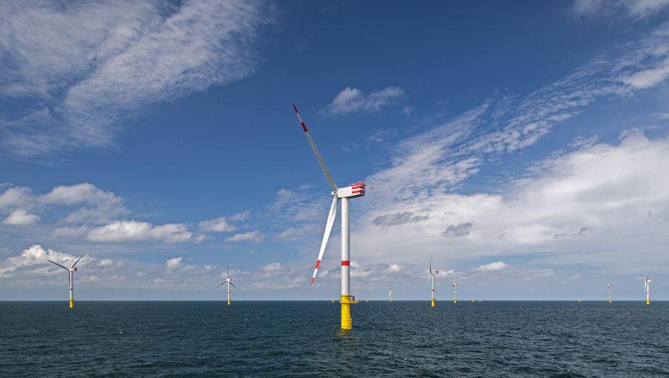 Senvion-Windräder in der Nordsee: Das Unternehmen braucht Insidern zufolge rund 100 Millionen Euro